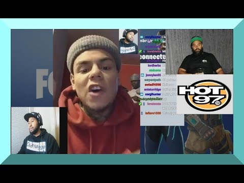 6ix9ine SNAPS on EBRO and Hot97 for not letting him in Summer Jam