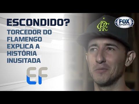 ESCONDIDO NO MARACANÃ? Torcedor do Flamengo explica a história inusitada