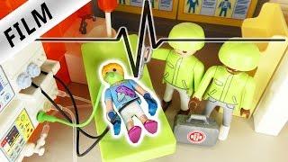 Playmobil Film Deutsch  NOT OP  HANNAH Im KRANKENHAUS  Kinderserie Familie Vogel