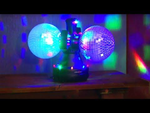 Lunartec LED Disco-Strobe mit Batteriebetrieb