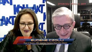 "KONTAKT TV: ""Ukraine in the News"" with Tania Stech, April 11th 2019 (News--Show #2733)"