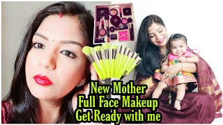 New Mother Full Face Makeup Step by Step After Birth Get Ready With Me SuperPrincessjo