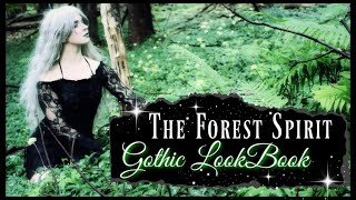 Wild Spirit Of The Forest 💫 GOTHIC FALL CLOTHING 2019 💫 Punk Rave Clothes Try-On  #GothYouTuber
