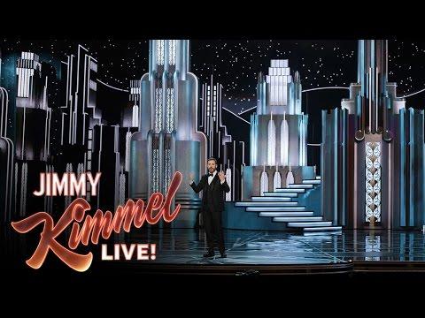 Jimmy Kimmel on Oscars Set Collapse