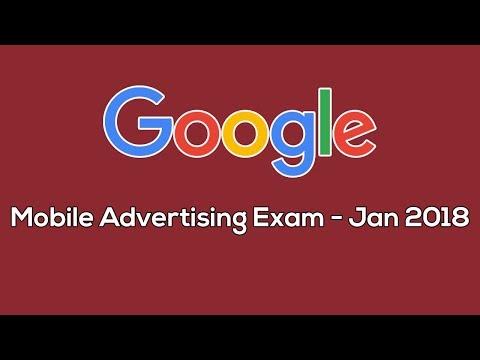 Google Adwords Mobile Advertising Certification Exam - Jan 2018 ...