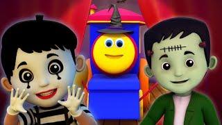Привет Его Хэллоуин | Боб поезд | счастливого Хэллоуина | Hello Its Halloween | Bob The Train Russia