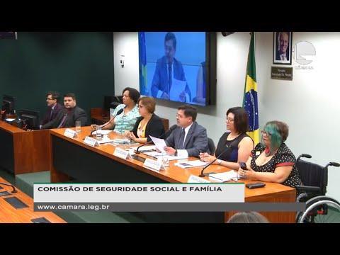 Seguridade Social e Família - Resolução que tipifica serviços de assistência social - 12/11 - 10:04