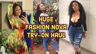 Spring 2019 Baddie Fits! | Huge Fashion Nova Curve Try-On Haul