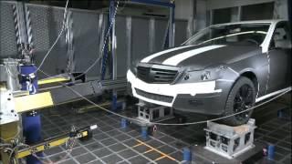 Mercedes Benz Pedestrain protection Active Bonnet Movie