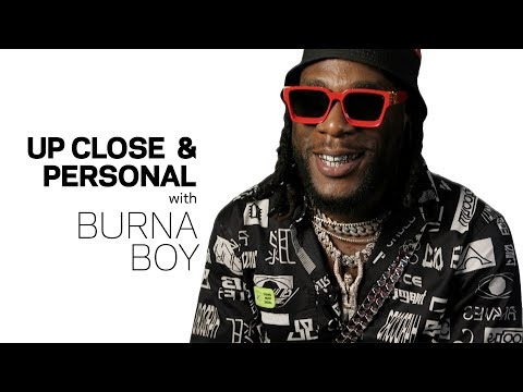 Burna Boy gets Up Close & Personal with The Recording Academy, talks 'African Giant,' Damian Marley & Angélique Kidjo Collaboration | WATCH