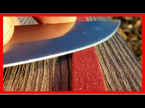 6 astuces pour aiguiser un couteau sans aiguiseur