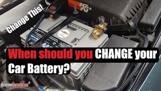 When should you change your Car Battery? | AnthonyJ350