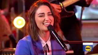 Sara Bareilles Performs FIRE Live On GMA