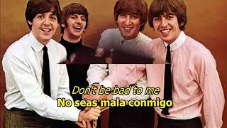 Bad To Me - The Beatles (LYRICS/LETRA) [WEAR EARPHONES!!!]