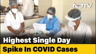 India Covid Cases Pass 46 Lakh With Record 1-Day Jump Of 97,570 Cases - Download this Video in MP3, M4A, WEBM, MP4, 3GP