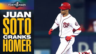 Juan Soto SMACKS 1st inning home run to give Nationals the lead in NLDS Game 3