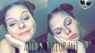 """Out of This World"" alien halloween tutorial 