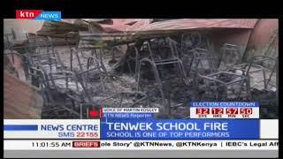 Five classrooms destroyed after fire guts down Tenwek School