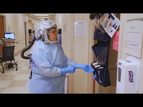 Treating COVID-19: A Day Inside our Highly Infectious Disease Unit