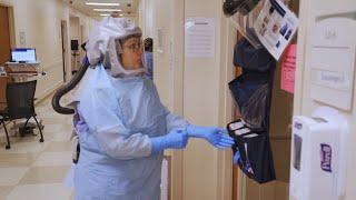 Treating Coronavirus: A Day Inside Houston Methodist's Highly Infectious Disease Unit (HIDU)