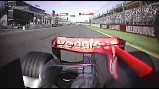 2007 Australian GP- Fernando Alonso, HamiltonCAM