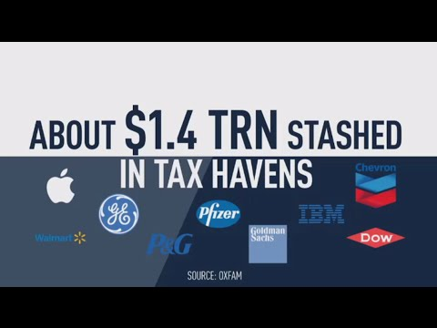 Top 50 US firms stash $1.4 trn in offshore tax havens - Oxfam