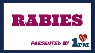 Rabies - Symptoms, treatment
