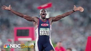 Before Usain Bolt, there was Michael Johnson, four-time Olympic gold medalist | NBC Sports