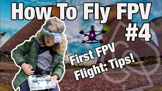 How To Fly FPV: Tips For Your FIRST FPV Flight!