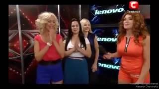 001 Микс успешных выступлений на передаче Х Фактор. Часть 1. (Ukrainian X Factor. Part 1.)