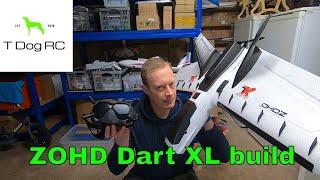 ZOHD Dart XL Enhanced FPV - DJI HD and Inav build