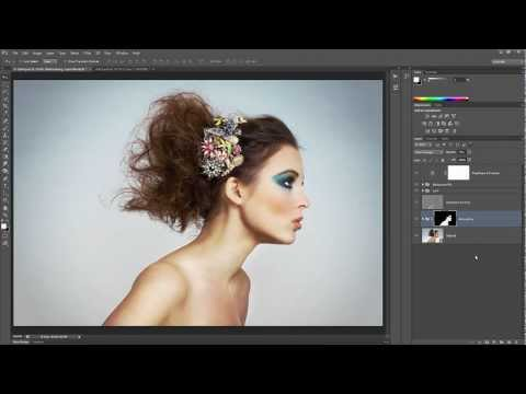 smooth skin professional retouch with airbrush photoshop tutorial