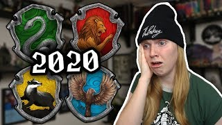 GETTING RESORTED ON POTTERMORE FOR 2020! (Sorting Quiz)
