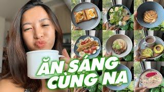 GỢI Ý 7 BỮA SÁNG EAT CLEAN NHANH GỌN ĐỦ CHẤT | Nutrition ♡ Hana Giang Anh