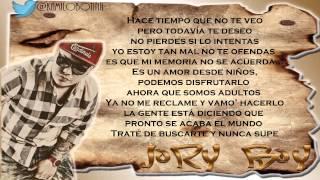 Amor De Antes (Remix) (Letra) - Plan B Ft Amaro, Ñengo Flow  Jory