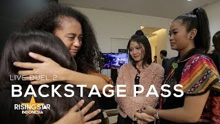 """BACKSTAGE PASS : """" AIRMATA JACQUELINE DI LIVE DUEL 2 RISING STAR INDONESIA!"""