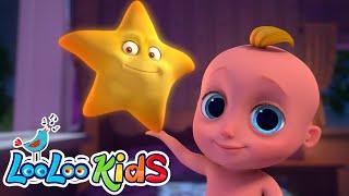 Twinkle Twinkle Little Star   Educational Lullaby | LooLoo KIDS