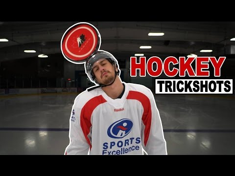 Hockey Trick Shots | SweetSpotSquad