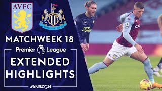 Aston Villa v. Newcastle | PREMIER LEAGUE HIGHLIGHTS | 1/23/2021 | NBC Sports
