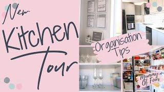 GREY AND WHITE KITCHEN TOUR | ORGANISATION TIPS AND TRICKS | WREN KITCHENS | MUMMY OF FOUR UK