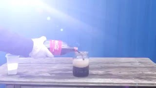 Кока кола   хлор ЖЕЕСТЬ РЕАКЦИЯ!!!