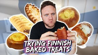 TRYING FINNISH BAKED TREATS | Taste Test Tuesday