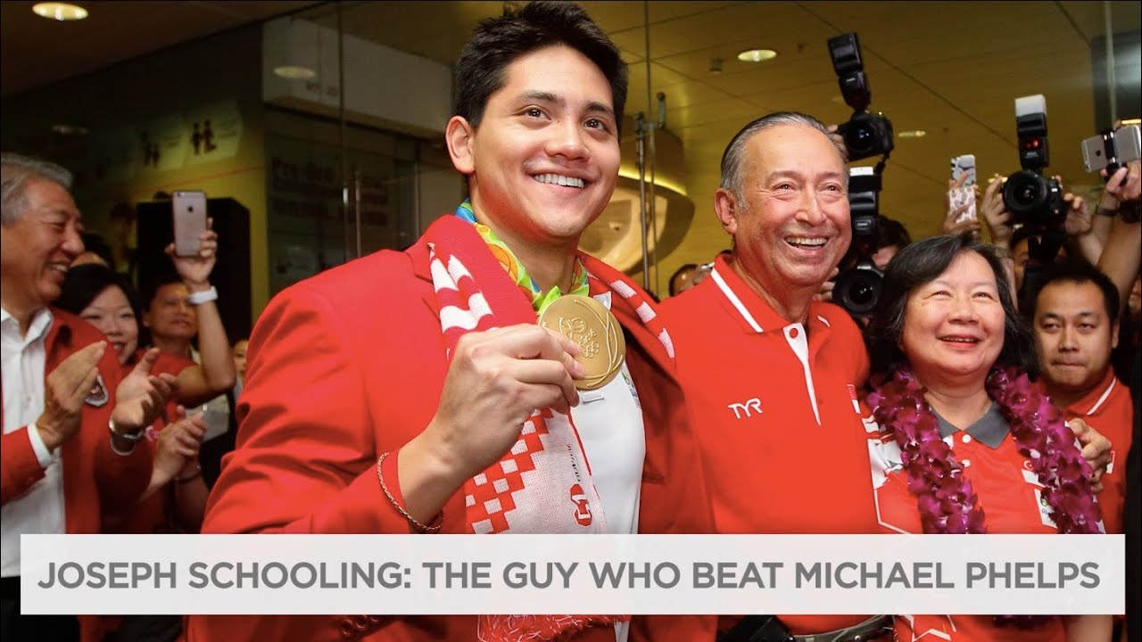 Joseph Schooling beat Michael Phelps in the 100m butterfly, sets Olympic record | Rio Olympics 2016 thumbnail