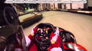 preview picture of video '131130 | Formel 10 | 4. Challenge | Lap's Kart Center Grimma | Lauf 1 | GoPro Hero 3'