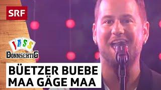 Büetzer Buebe Gölä & Trauffer: Maa Gäge Maa | Donnschtig Jass | SRF Musik