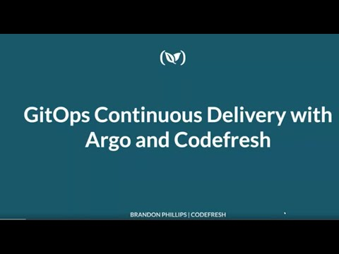GitOps continuous delivery with Argo and Codefresh