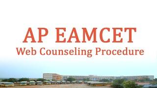 AP EAMCET 2020 Web Counseling Procedure