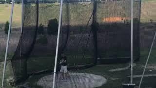 Justin McGregor Hammer Throw