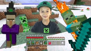 Играю в МАЙНКРАФТ на PS4 Minecraft  Летсплей Выживание в Майнкрафт