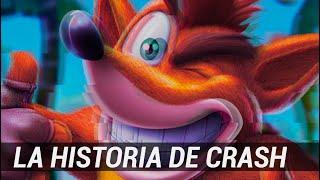 Crash Bandicoot (1996 - 2019) The first mascot | Biography #Alionbits ft: #Crono